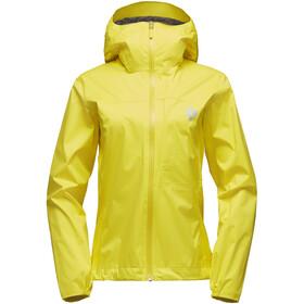 Black Diamond Fineline Stretch Rain Shell Jacket Women sunflare